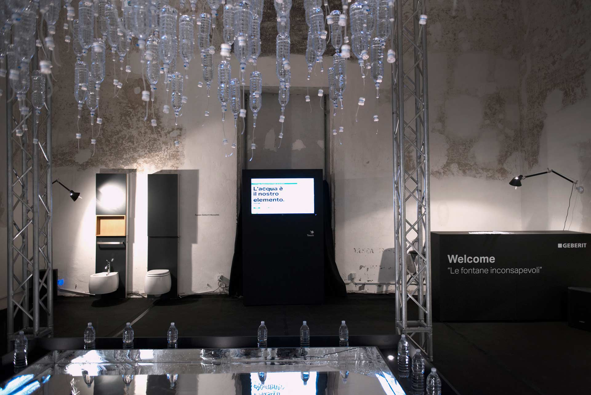 Geberit Bologna Water Design 2013 installation 05