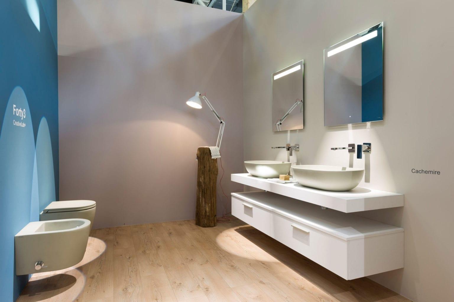 Globo Cersaie 2015 exhibition interior design 01