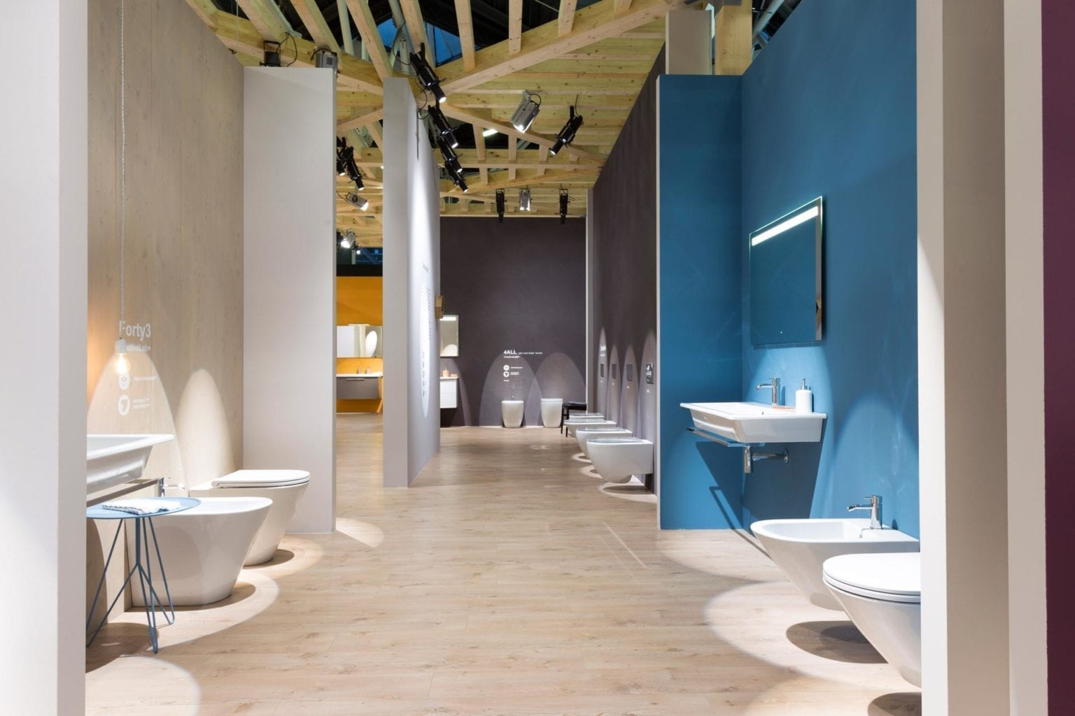 Globo Cersaie 2015 exhibition interior design 04