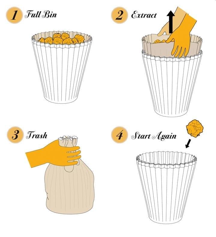 Fabriano Waste Paper Bin product design 04