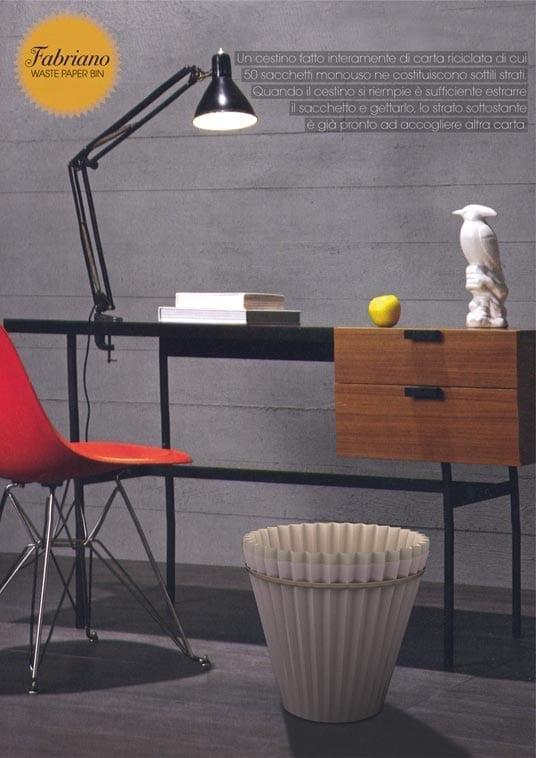 Fabriano Waste Paper Bin product design 05