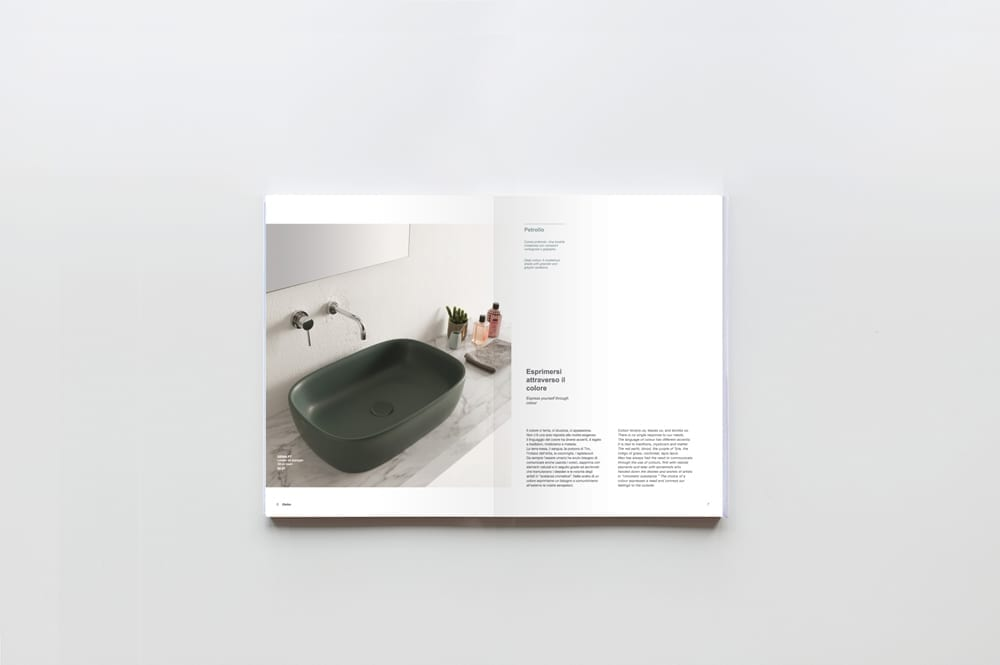 Globo bagno colore catalogue 2015 art direction 07