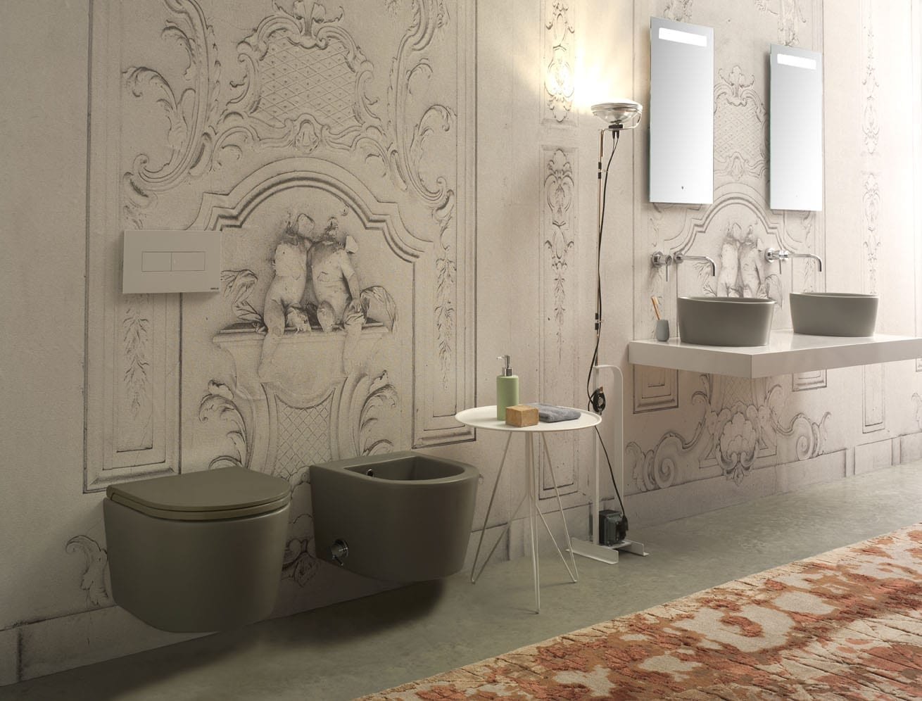 Globo bagno colore catalogue 2015 art direction 12