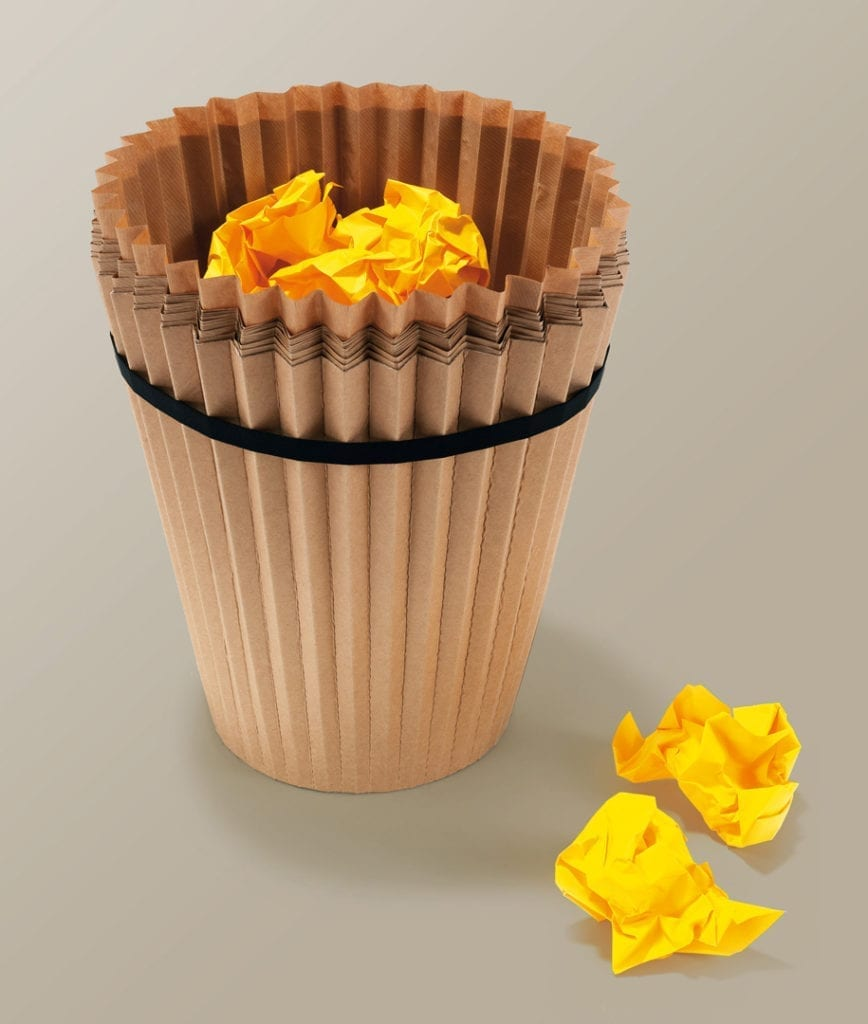 Fabriano Waste Paper Bin product design 03