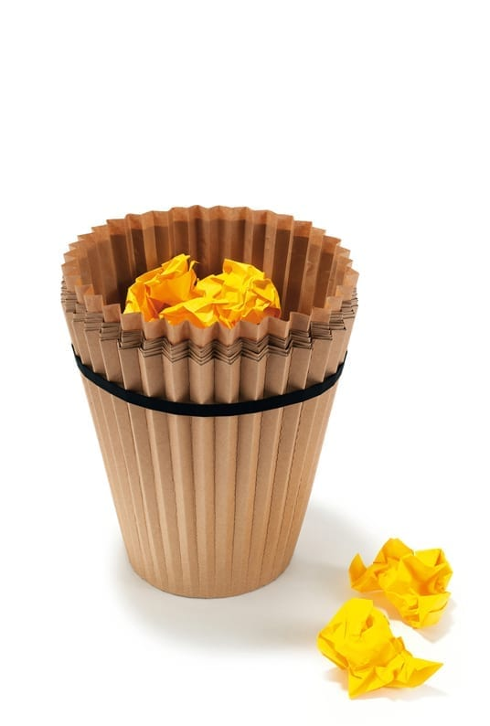 Fabriano Waste Paper Bin product design 06