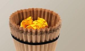 Fabriano Waste Paper Bin product design 02