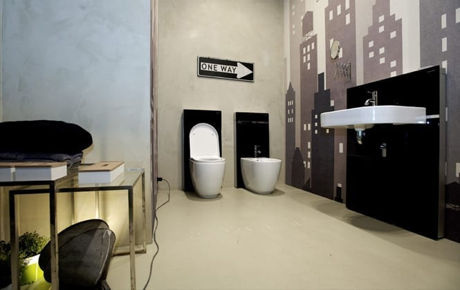 Geberit Fuorisalone 2012 Art Direction and Interior design 14