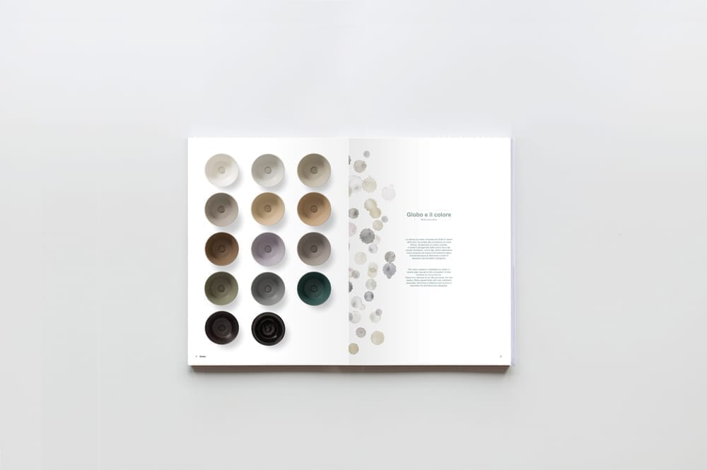 Globo bagno colore catalogue 2015 art direction 06