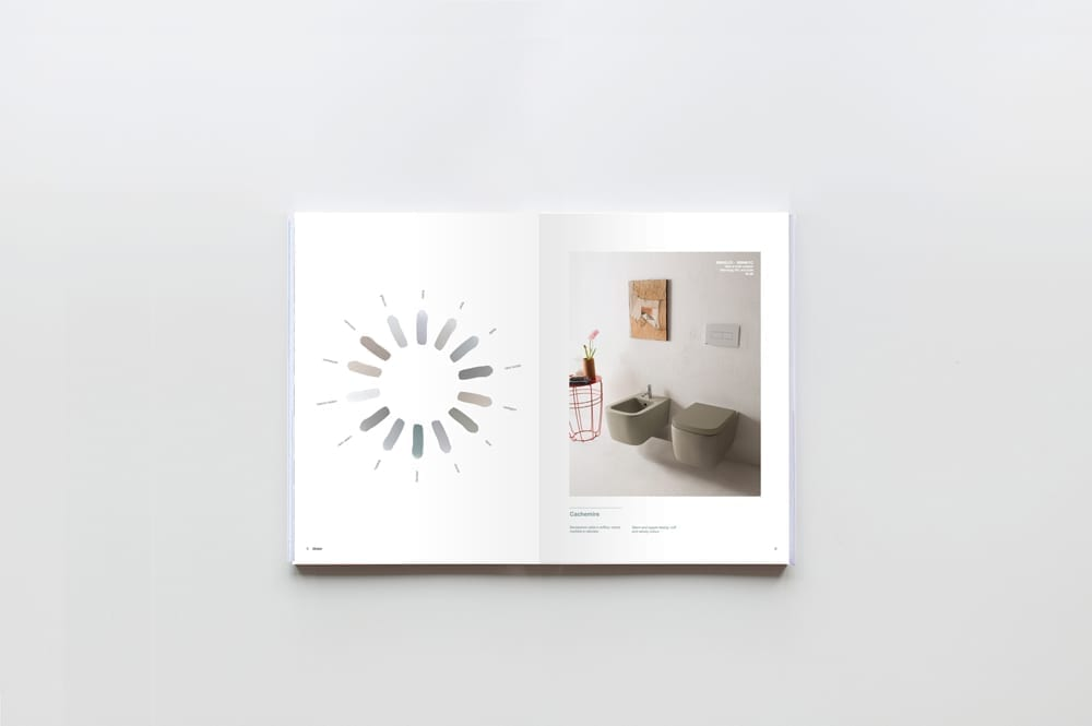 Globo bagno colore catalogue 2015 art direction 09
