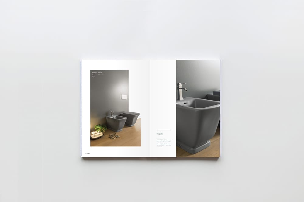 Globo bagno colore catalogue 2015 art direction 10