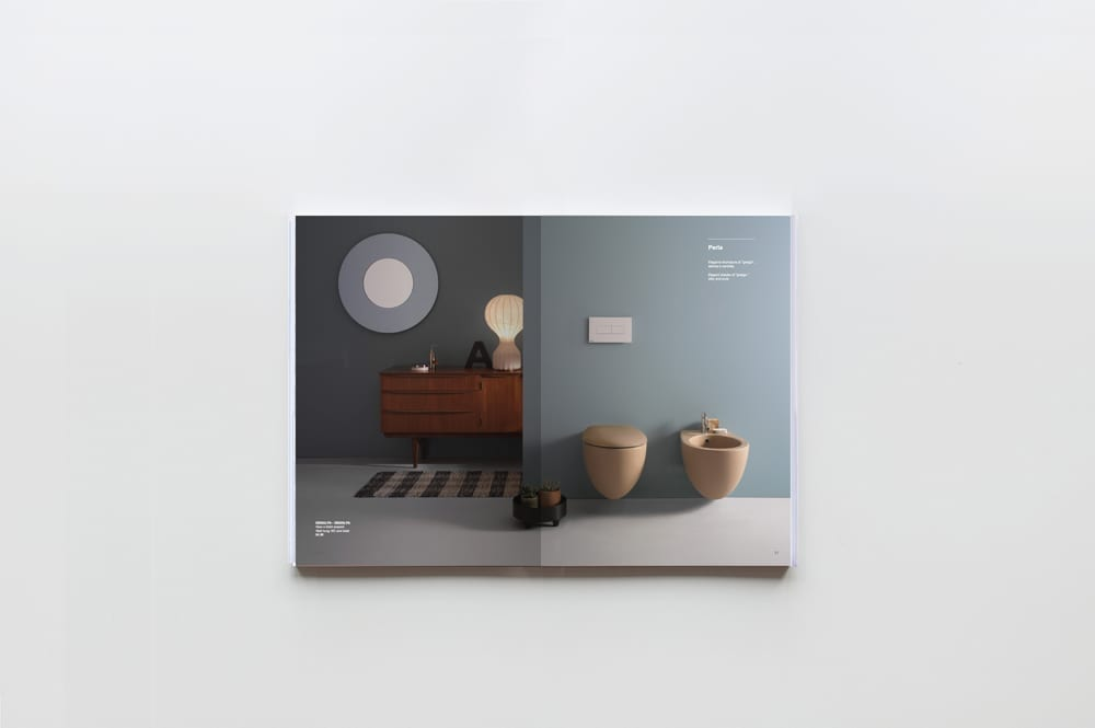 Globo bagno colore catalogue 2015 art direction 14