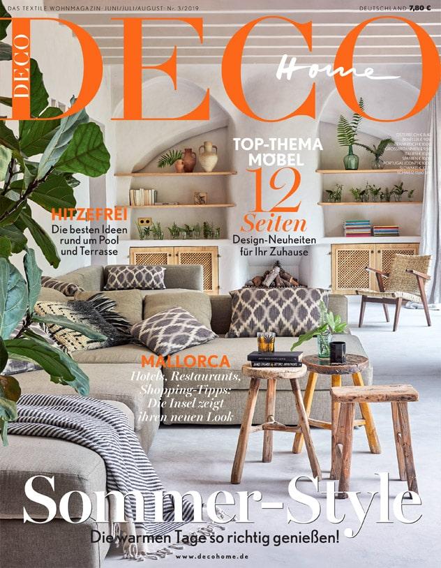 Press Domenico Orefice Home Deco Germany June 2019