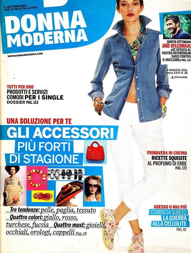 Press Domenico Orefice Donna Moderna Maggio 2011