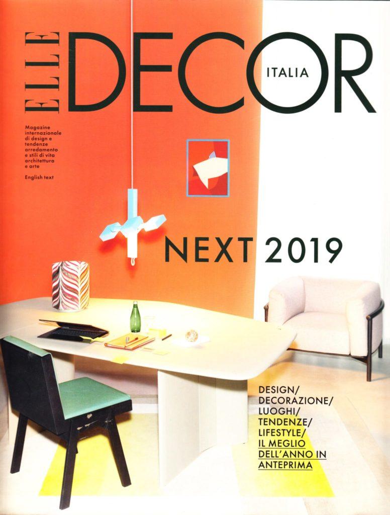 Press Domenico Orefice Elle Decor Feb 2019