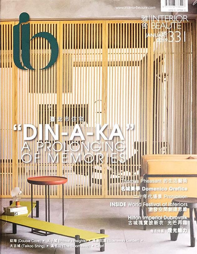 Press Domenico Orefice Elle Decor Marzo 2020