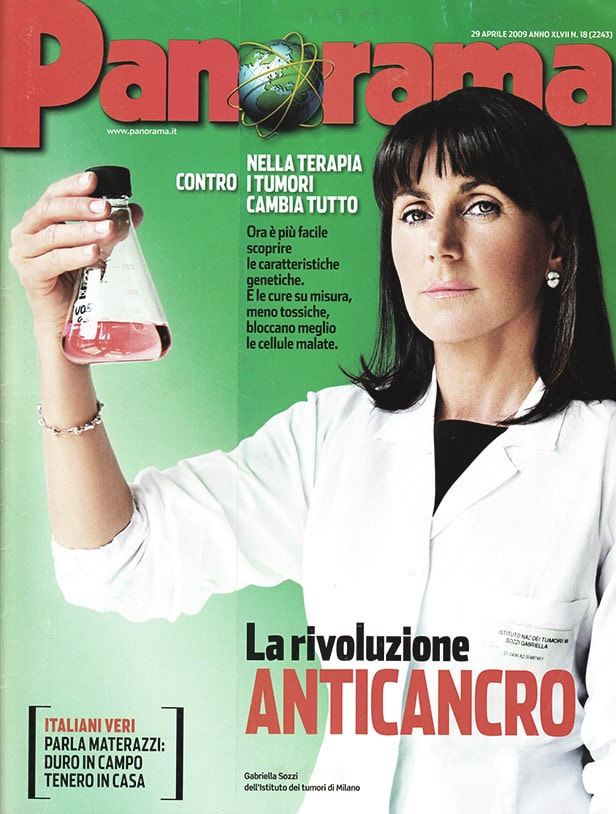 Press Domenico Orefice Panorama Aprile 2009
