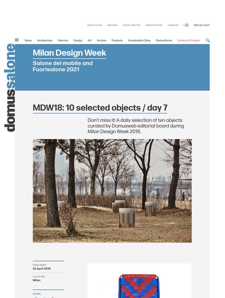 Press Domenico Orefice Domus web 2018